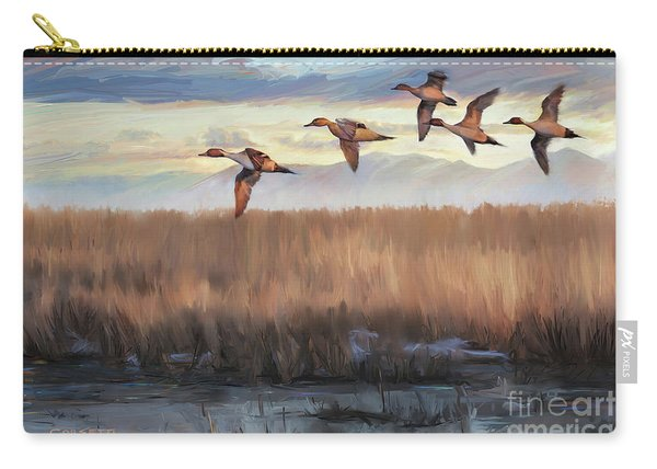 Pintail Fly By Carry-all Pouch