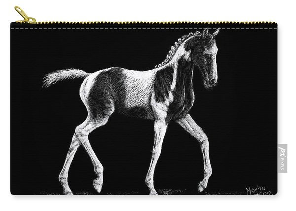 Pinto Foal Carry-all Pouch