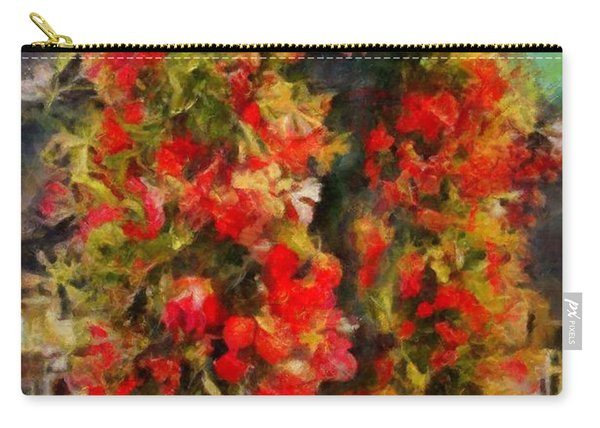 Pi's Flowers 2 Carry-all Pouch