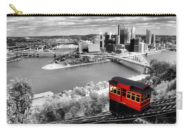 Pittsburgh From The Incline Carry-all Pouch
