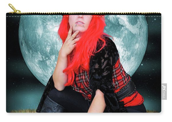 Pixie Under A Blue Moon Carry-all Pouch