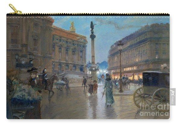 Place De L Opera In Paris Carry-all Pouch