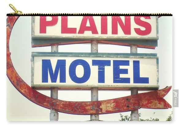 Plains Motel Carry-all Pouch
