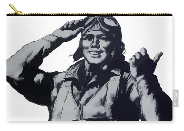 Plane Production Give Us More Carry-all Pouch