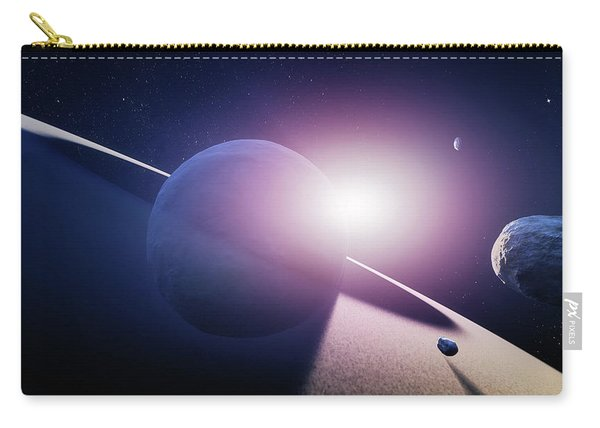 Planet Saturn Sunrise Carry-all Pouch