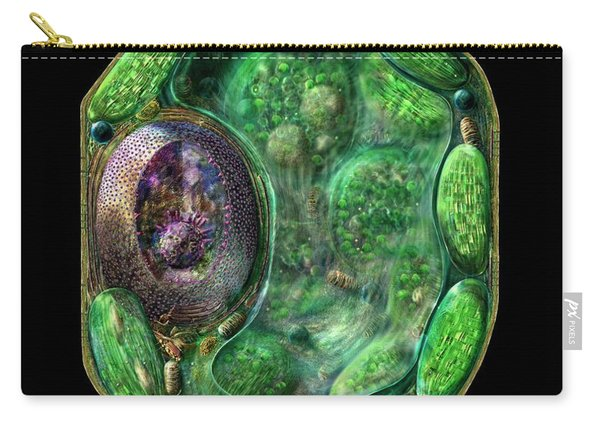 Plant Cell Carry-all Pouch