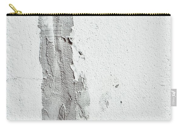 Plaster On A Wall Carry-all Pouch