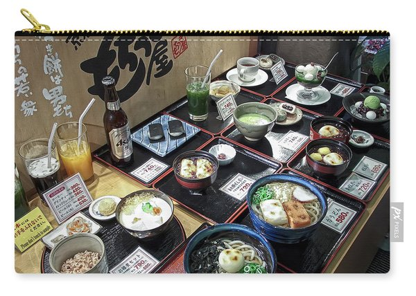 Plastic Food Display - Kyoto Japan Carry-all Pouch