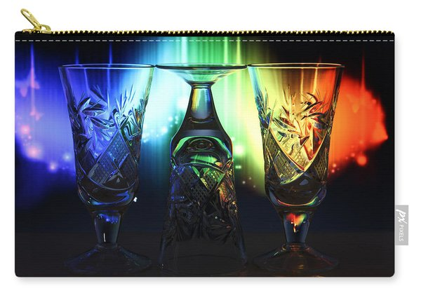 Play Of Glass And Colors Carry-all Pouch