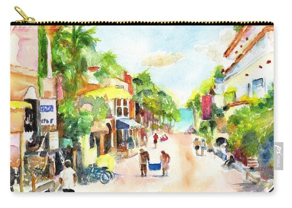 Playa Del Carmen Mexico Shops Carry-all Pouch
