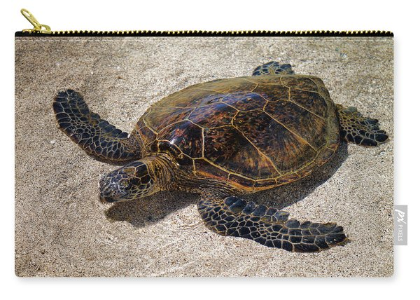 Playful Honu Carry-all Pouch