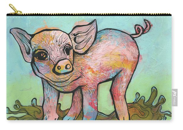 Playful Piglet Carry-all Pouch