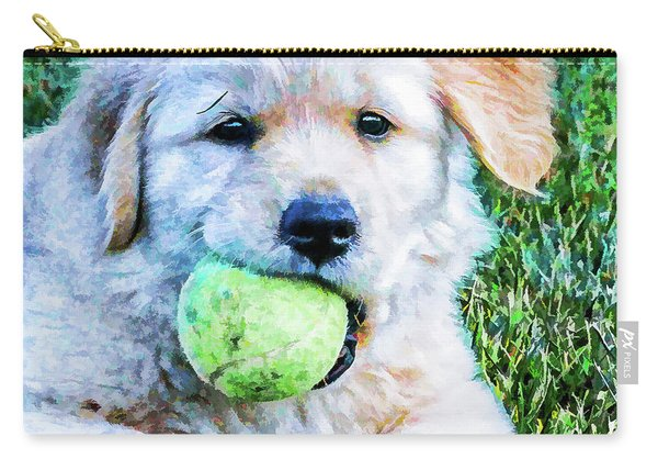 Playful Pup Carry-all Pouch