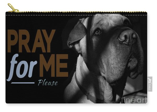 Please Pray For Me Carry-all Pouch