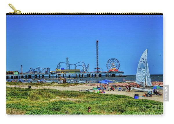 Pleasure Pier Sunny Day Carry-all Pouch