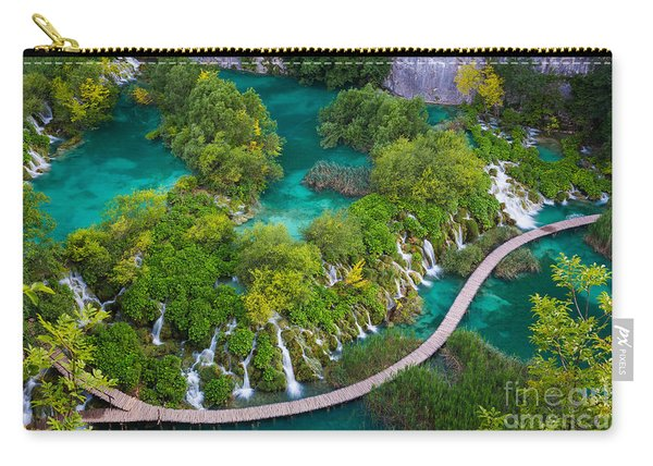 Plitvice Boardwalk Carry-all Pouch
