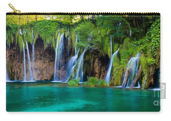 Plitvice Panorama Carry-all Pouch