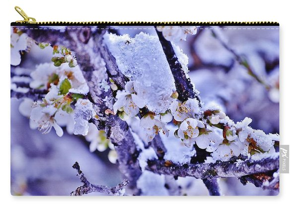 Plum Blossoms In Snow Carry-all Pouch