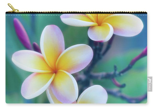 Plumerias In Pastel Carry-all Pouch