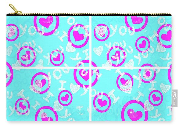 Plus D'amour Carry-all Pouch