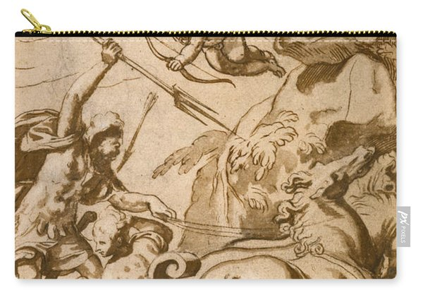 Pluto Abducting Persephone Carry-all Pouch