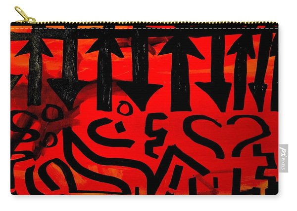 Pmurt Abstract  Carry-all Pouch