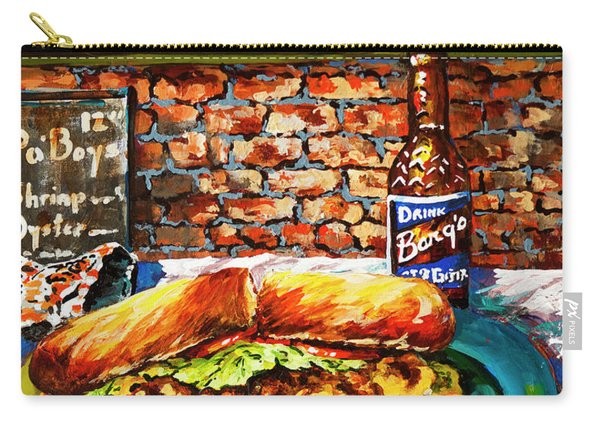 Po'boy Time Carry-all Pouch