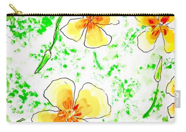 Pocket Full Of Poppies Carry-all Pouch