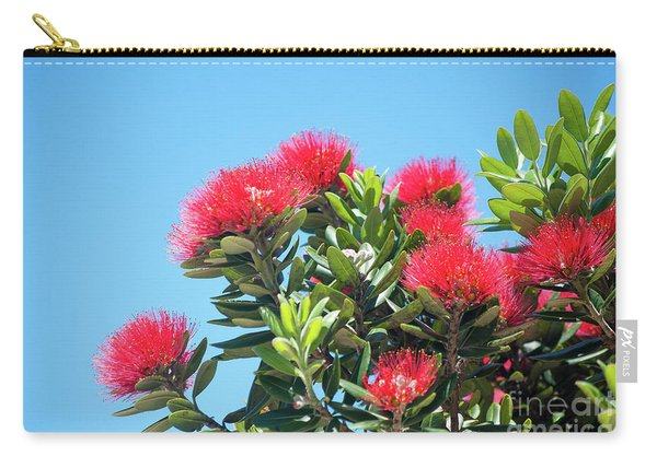Pohutukawa Tree Flowers Carry-all Pouch