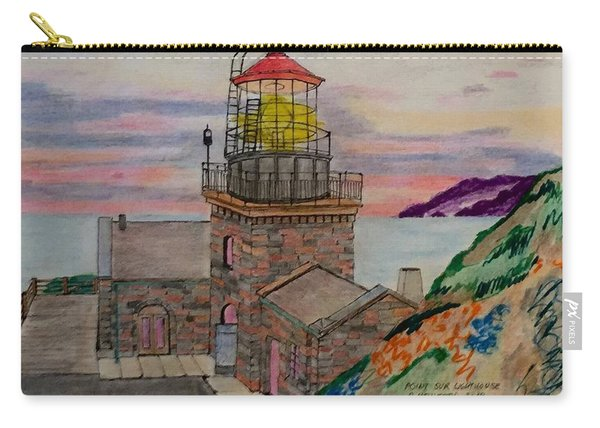 Poin Sur Lighthouse Carry-all Pouch