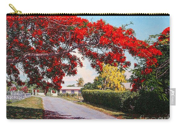 Poinciana Shadows Carry-all Pouch