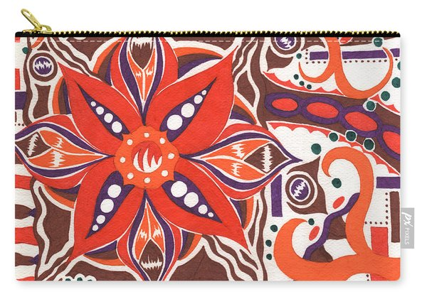 Poinsettia Power Carry-all Pouch