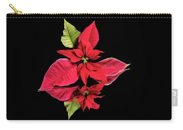 Poinsettia Reflection  Carry-all Pouch