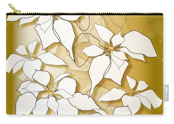 Poinsettias Carry-all Pouch
