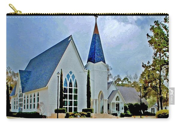 Point Clear Alabama St. Francis Church Carry-all Pouch