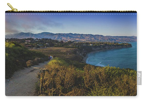Point Dume Sunset Panorama Carry-all Pouch