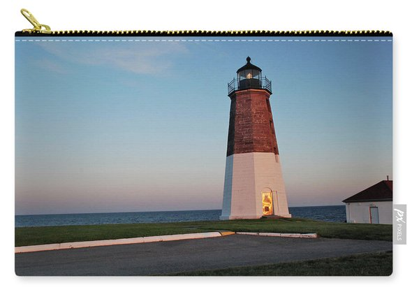 Point Judith Lighthouse Rhode Island Carry-all Pouch