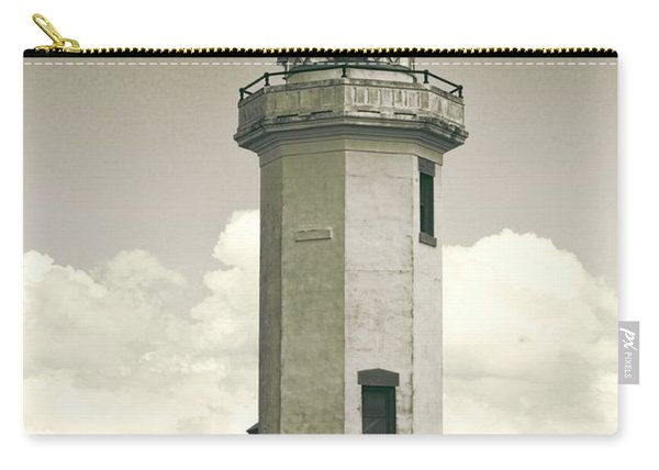 Point Wilson Lighthouse Sepia Carry-all Pouch