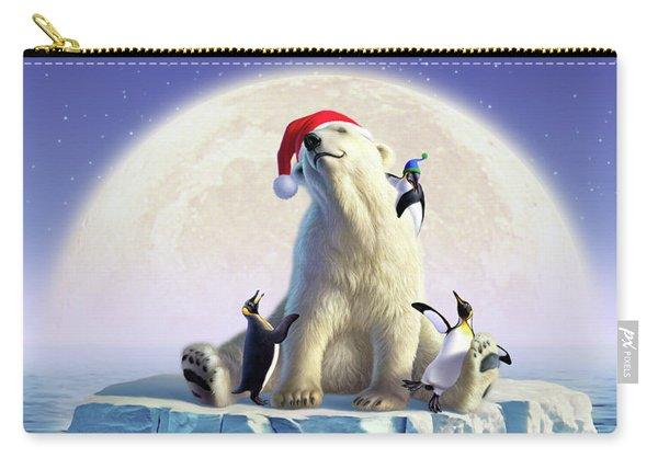 Polar Season Greetings Carry-all Pouch