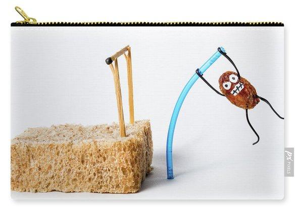Pole Vaulting Raisin Carry-all Pouch