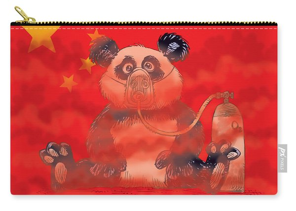 Pollution In China Carry-all Pouch