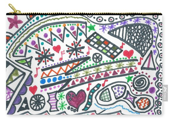 Polly-wolly-doodle Carry-all Pouch