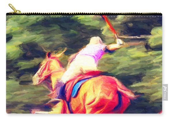 Polo Game 2 Carry-all Pouch
