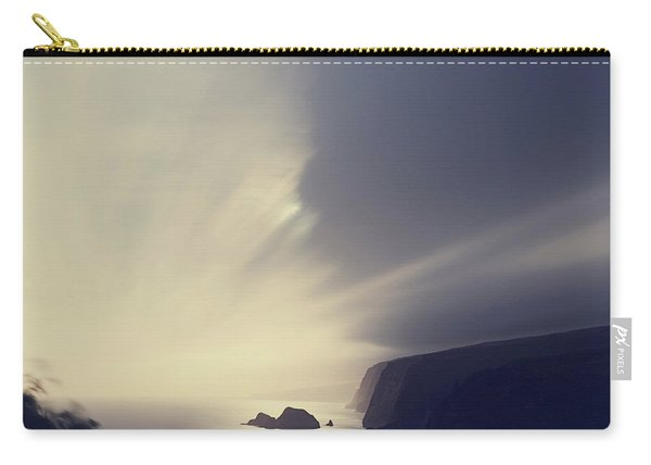 Pololu Valley Moonrise - Hipster Photo Square Carry-all Pouch