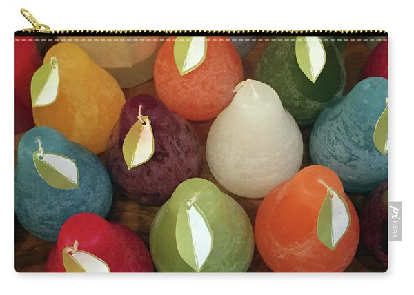 Polychromatic Pears Carry-all Pouch