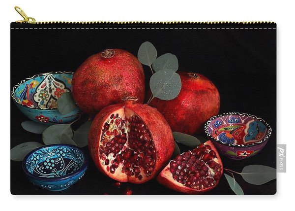 Pomegranate Power Carry-all Pouch