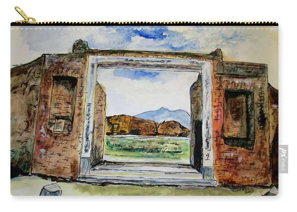 Pompeii Doorway Carry-all Pouch