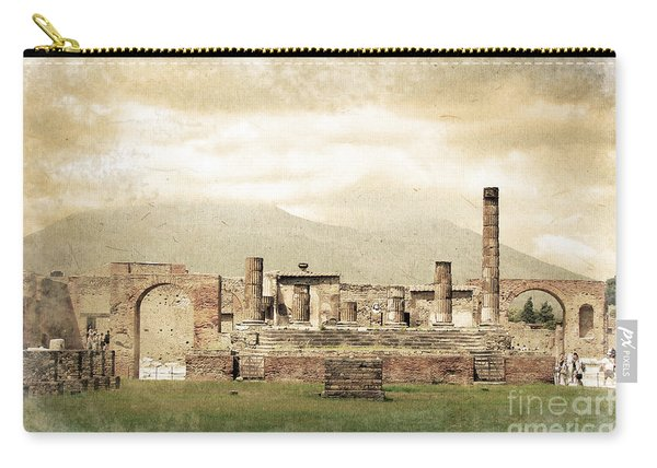 Pompeii Forum Carry-all Pouch
