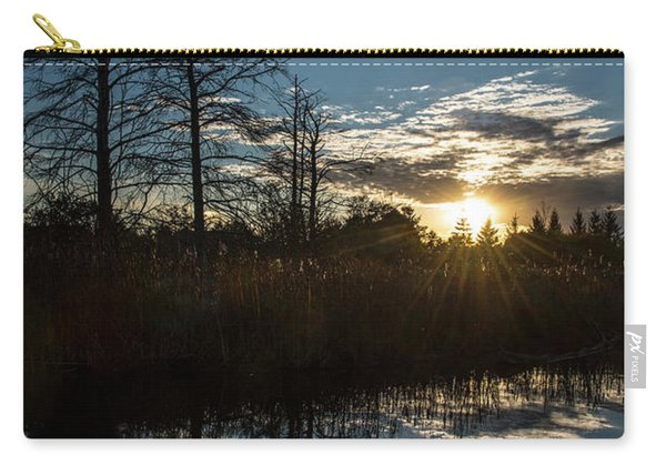 Pond At Sunset-rawlinson Park Carry-all Pouch