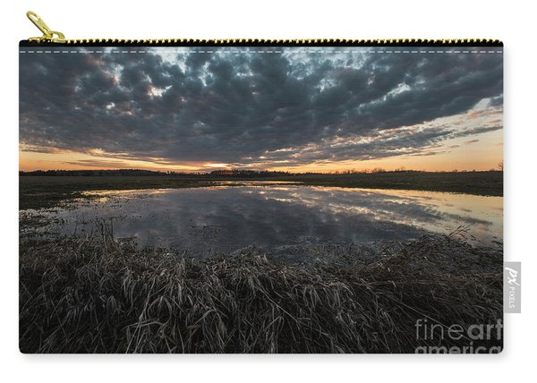 Pond And Sky Reflection1 Carry-all Pouch